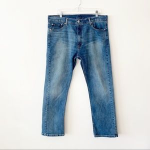 Levi's 513 Men's Vintage Wash Blue Jeans 38 X 30